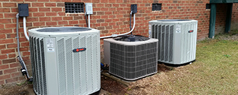 HVAC units for home heating in West Columbia, SC.